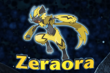Mythical Pokémon Zeraora
