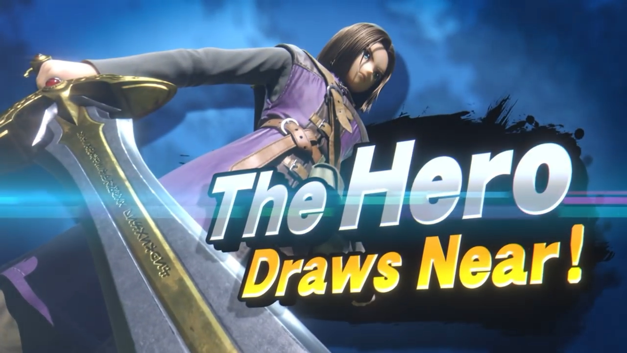 The Hero E3 Direct Super Smash Bros Ultimate