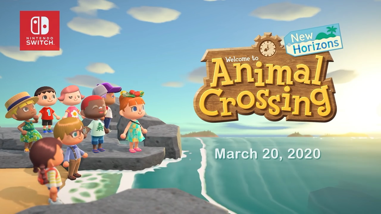 ANIMAL CROSSING NEW HORIZONS E3